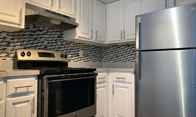 Kitchen, Marbella Park Apartments, 1