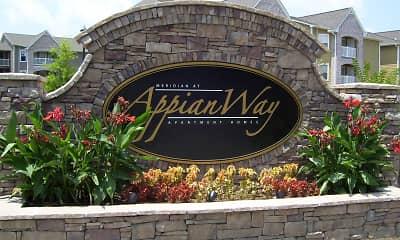 Community Signage, Appian Way, 2