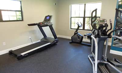 Fitness Weight Room, Lost Creek Ranch, 2