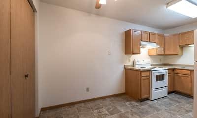 Kitchen, Sierra Ridge Apartments, 1