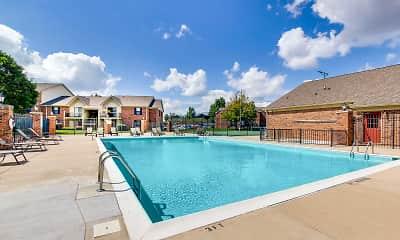 Pool, Dovetree Apartments, 1