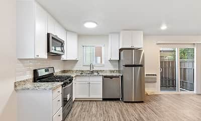 Kitchen, Glenbrook Apartments, 0