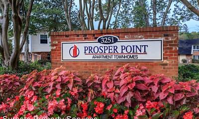 Community Signage, Prosper Point, 2