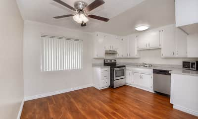 Kitchen, West Park Apartments, 1