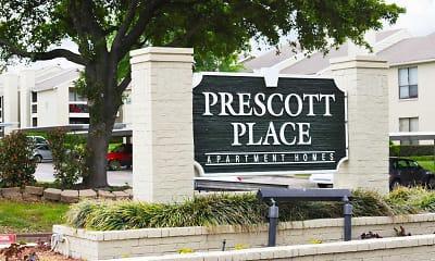 Community Signage, Prescott Place, 1