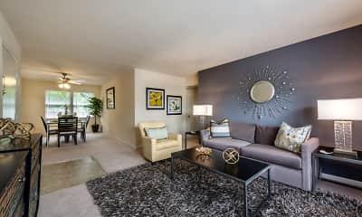Living Room, Aquahart Manor, 0
