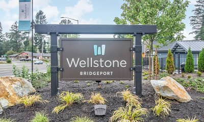 Community Signage, Wellstone at Bridgeport, 1