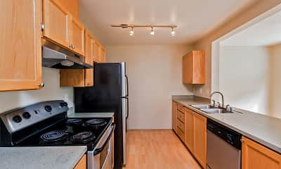 Kitchen, Townhomes at Mountain View - Sumner, 2