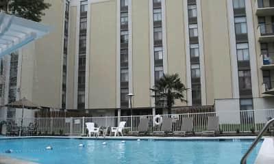 Pool, Royal Mace Apartments, 1
