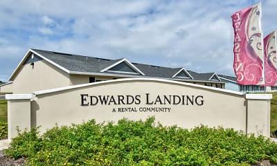 Community Signage, Edwards Landing, 2