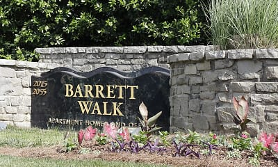 Community Signage, Barrett Walk, 2