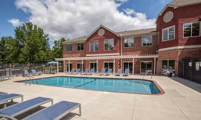 Pool, Fountain Place Apartments, 0
