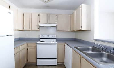 Kitchen, Copperfield Apartments, 1