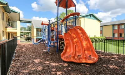 Playground, Boca Club Apartments, 1