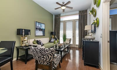 Dining Room, Desoto Town Center Apartments, 0