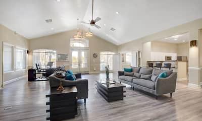 Living Room, Newport Village Apartments, 0