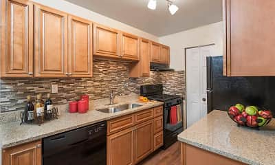 Kitchen, Pinewood Gardens Apartments, 0