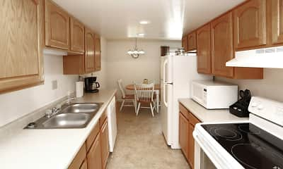 Kitchen, Colonial Crest Apartments, 0
