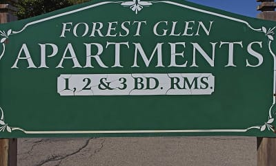 Community Signage, Forest Glen Apartments, 2