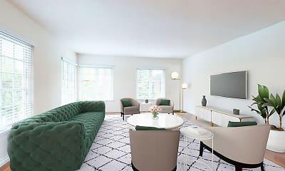 Living Room, Sunset Barrington Gardens, 1
