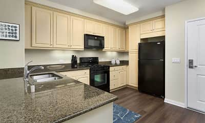 Kitchen, Avalon Encino, 0