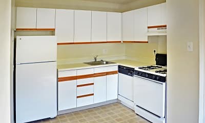 Kitchen, Jamestown Village Apartments, 1