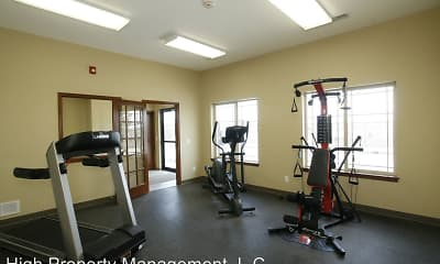 Fitness Weight Room, Wheatland Club, 2