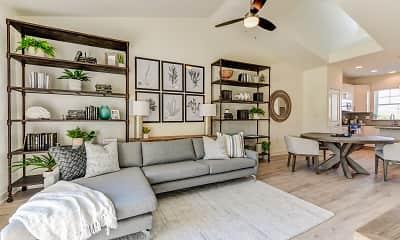 Living Room, Fairway Village Townhomes, 0