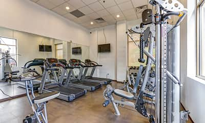 Fitness Weight Room, East Bank Communities, 2