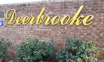 Landscaping, Deerbrooke Apartments, 1