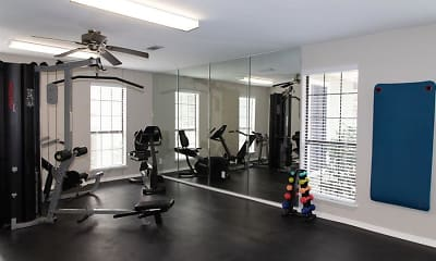 Fitness Weight Room, The Arbors, 2