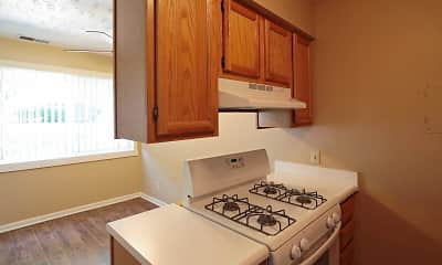 Kitchen, Sunset Ridge Townhomes, 2