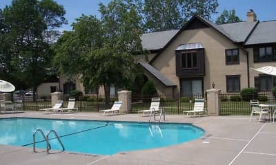 Pool, Historical Square & Ridgeview at Lewiston Apartments, 1