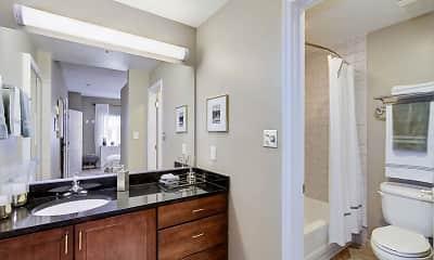 Bathroom, Flats at Shady Grove, 2