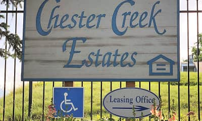 Community Signage, Chester Creek Estates, 0