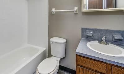 Bathroom, Aspen Chase At Eagle Creek, 2