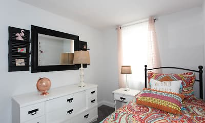 Bedroom, Hollinswood Townhouses, 2