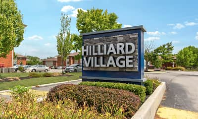 Community Signage, Hilliard Village, 2
