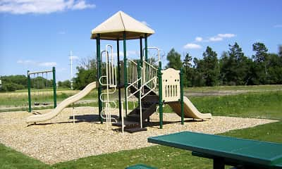 Playground, Riverbend Apartments - NE, 2