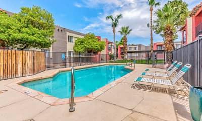 Pool, Papago Gardens, 1