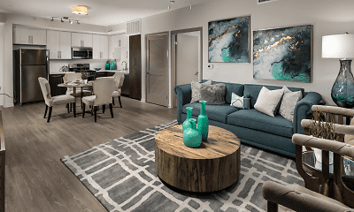 Living Room, The Harrison, 1