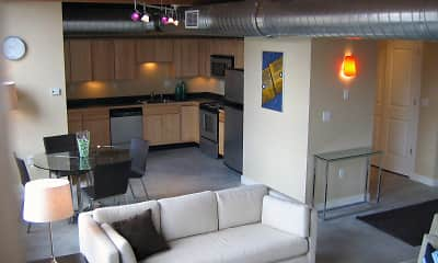 Living Room, Haverhill Lofts, 0