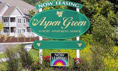 Community Signage, Aspen Green, 2