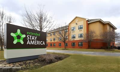 Community Signage, Furnished Studio - Chicago - Buffalo Grove - Deerfield, 0