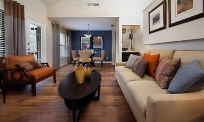 Living Room, Enclave at Northwood, 1