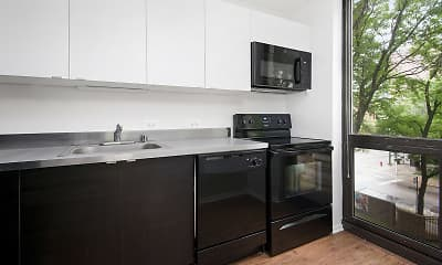 Kitchen, 1000 North LaSalle, 1