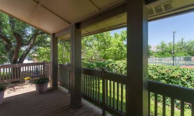 Patio / Deck, Canyon Ridge Apartments, 2