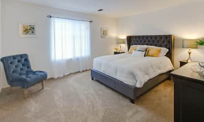 Bedroom, The Lodge Apartments, 0