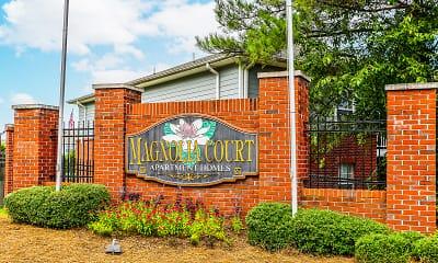 Community Signage, Magnolia Court, 2