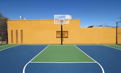 Basketball Court, Fox Point, 1